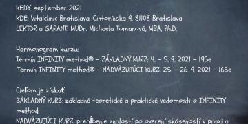 INFINITY method® – po prvýkrát na Slovensku